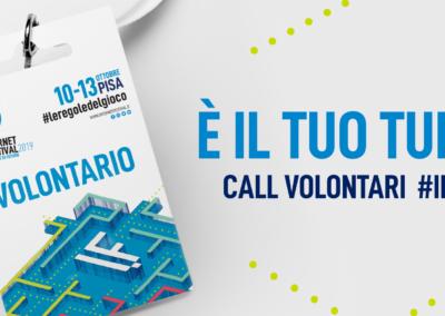 Call volontari #IF2019
